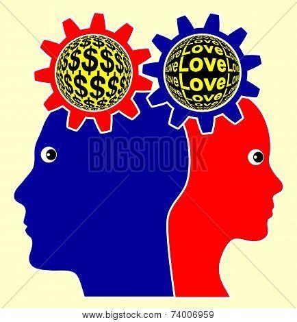 Love Versus Money