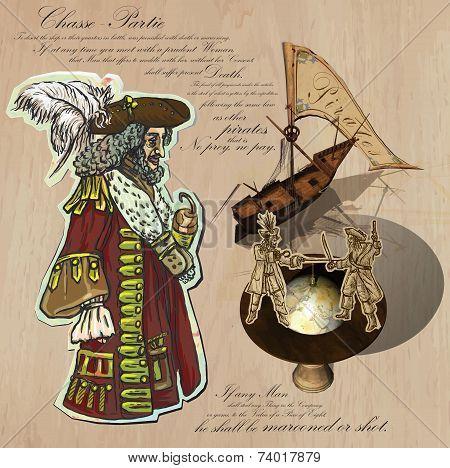 Pirates - Navigation At Sea.