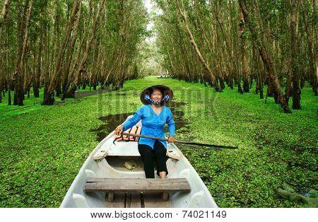 Tra Su Indigo Forest, Vietnam Ecotourism