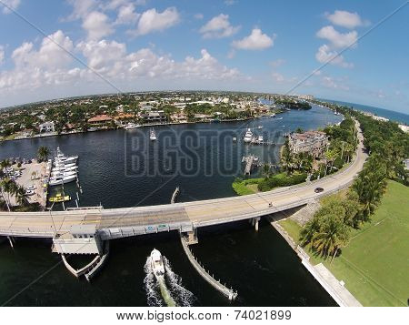 Coastal Aerial View Of Florida
