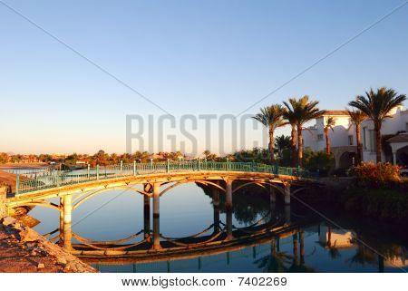 Canal en El-gouna, Egipto