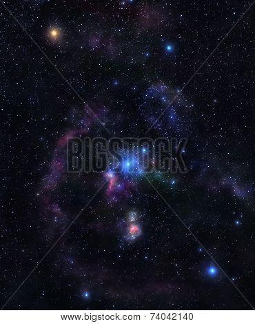 Shining Stars Of Orion