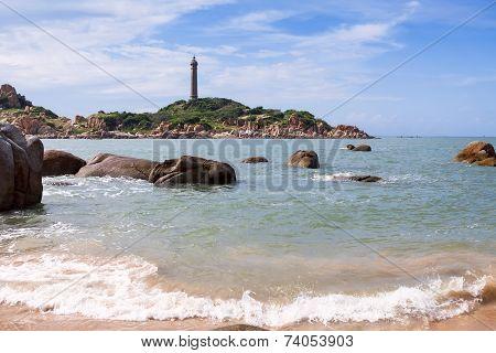 Ke Ga Lighthouse. Binh Thuan Province, Vietnam.