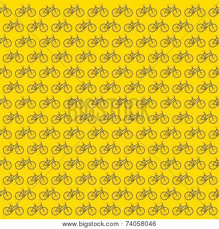 creative bicycle design pattern background vector