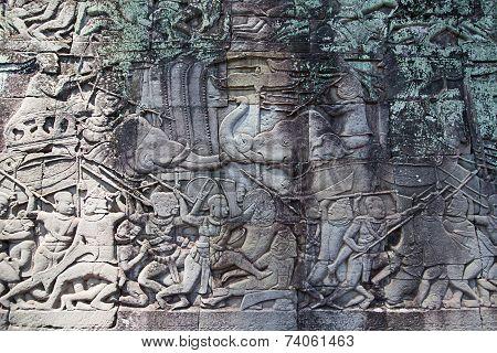 Fresco Angkor Wat/ Angkor Thom.