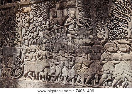 Fresco Angkor Wat/ Angkor Thom