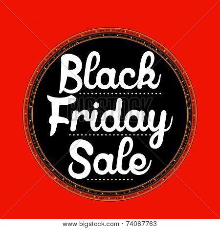 Black Friday Sale sticker