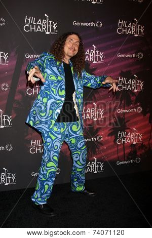 LOS ANGELES - OCT 17:  Weird Al Yankovic at the Hilarity for Charity Benefit for Alzheimer's Association at Hollywood Paladium on October 17, 2014 in Los Angeles, CA