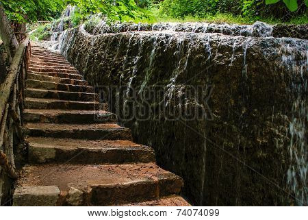 Stairs Next To Water