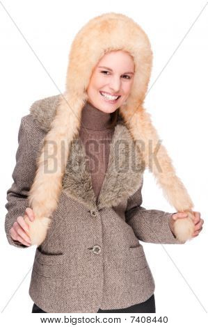 Woman In Winter Clothing