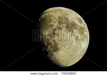Moon over Carolina