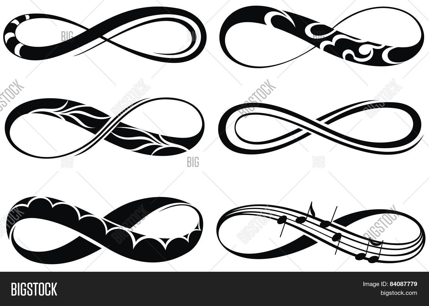 Infinity Love Vector Photo Free Trial Bigstock