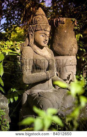 Old Asian Sculpture.