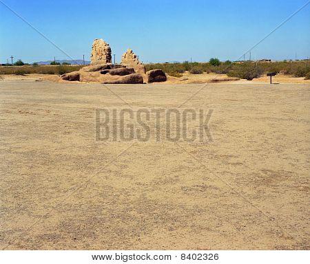 Deserted Hohokam Village