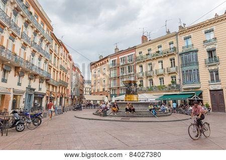Place De La Trinite In Toulouse