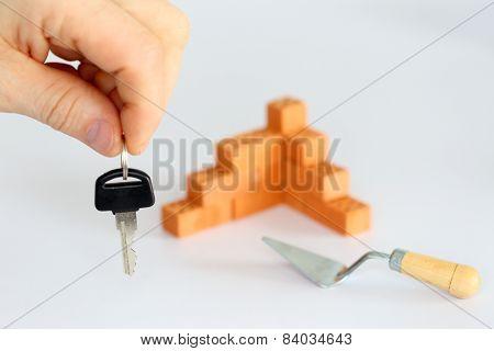 Key With Bricks