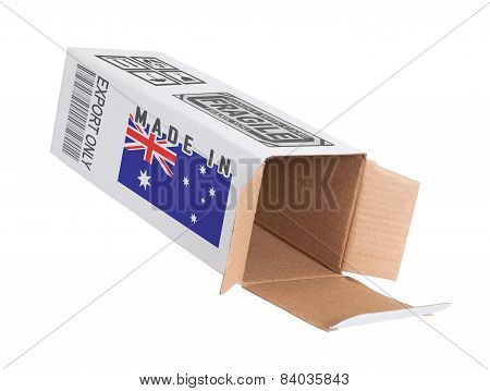 Concept Of Export - Product Of Australia