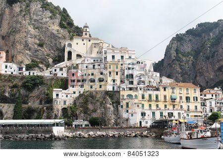 Amalfi Pier