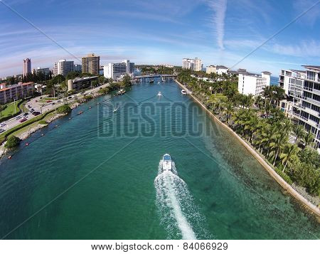 Waterways Near Boca Raton, Florida