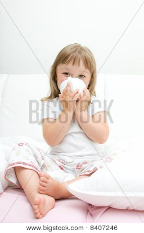Sick Little Girl