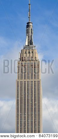 Details of the Empire State Building