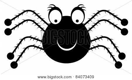 Icon of black spider