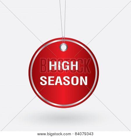 red oval high season