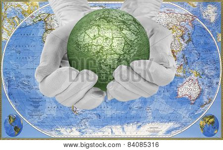 The World In His Hands