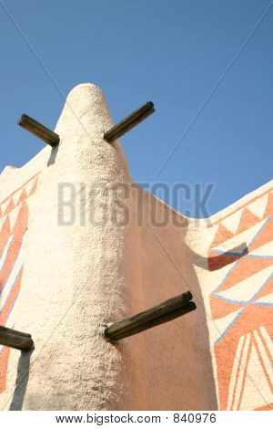 Detail Of African Building Rooftop