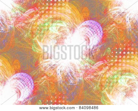 Seamless Textured Plasmatic Background