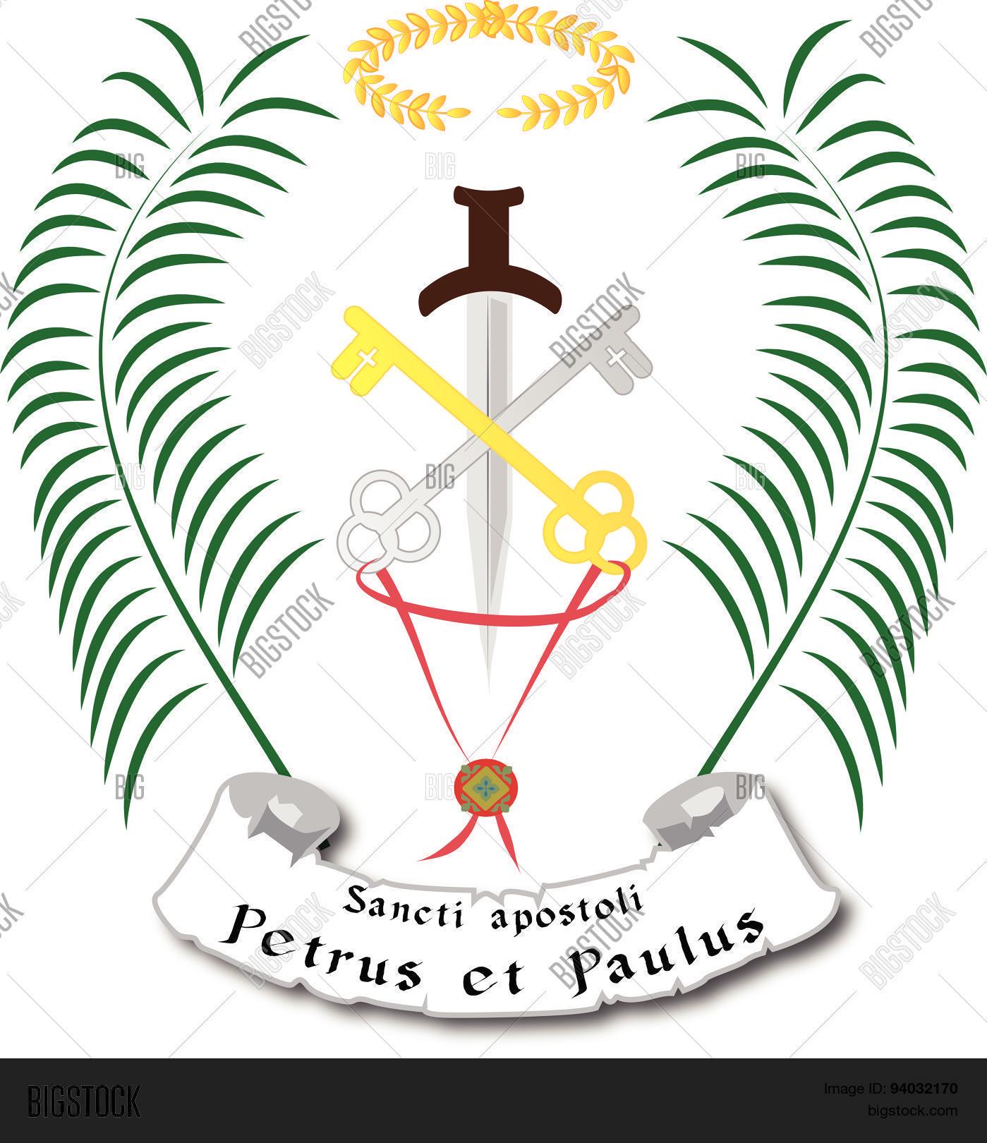 St Peter Paul Vector Photo Free Trial Bigstock