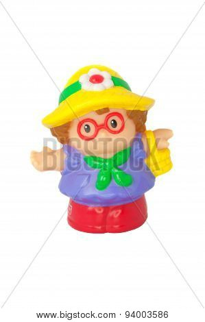 Fisher Price Little People Shopping Lady