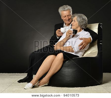 Portrait of a senior couple