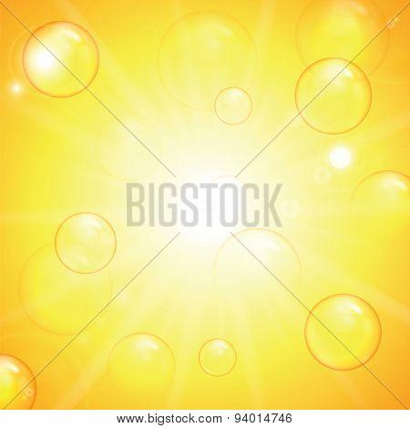 Summer Sunny Background