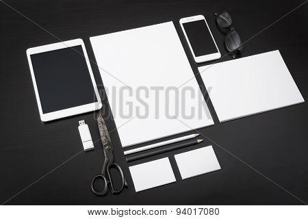 Letterhead design mockup