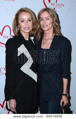 LOS ANGELES - JUN 3:  Marjorie Bach, Barbara Bach at the Halle Berry And Revlon Celebrate Achievements In Cancer Research at the Four Seasons Hotel on June 3, 2015 in Los Angeles, CA