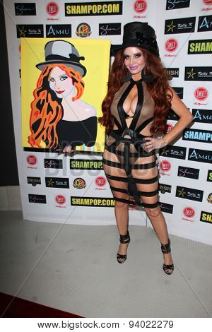 LOS ANGELES - JUN 4:  Phoebe Price at the Celebrity Selfies Art Show by Sham Ibrahim at the Sweet! Hollywood on June 4, 2015 in Los Angeles, CA