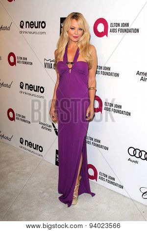 LOS ANGELES - MAR 3:  Charlotte Ross at the Elton John AIDS Foundation's Oscar Viewing Party at the West Hollywood Park on March 3, 2014 in West Hollywood, CA