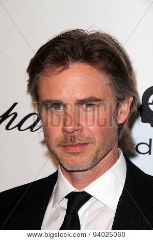 LOS ANGELES - MAR 3:  Sam Trammell at the Elton John AIDS Foundation's Oscar Viewing Party at the West Hollywood Park on March 3, 2014 in West Hollywood, CA