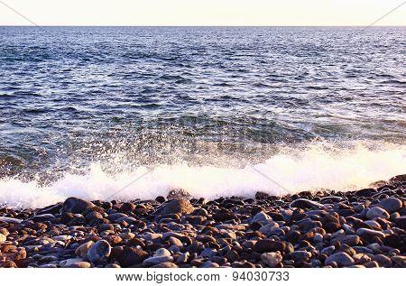 Ocean near the Canary Islands