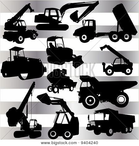 Collection Of Construction Machine