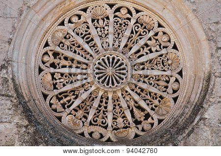 Madonna della Greca Church. Locorotondo. Puglia. Italy. poster