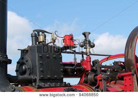 Vintage Traction Engine.