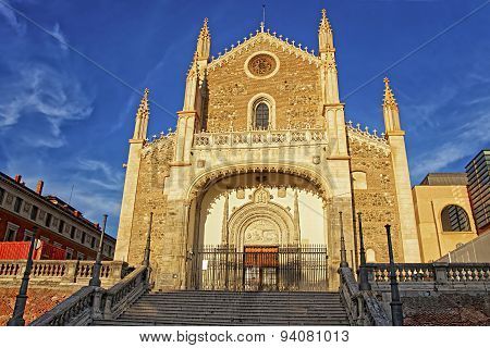 St. Jerome The Royal Church In Madrid Horizontal