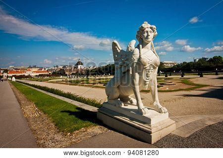Statue In The Belvedere