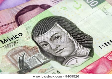 Mexican Two Hundred Peso Bill