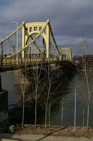 Roberto Clemente Bridge Pittsburgh Pennsylvania