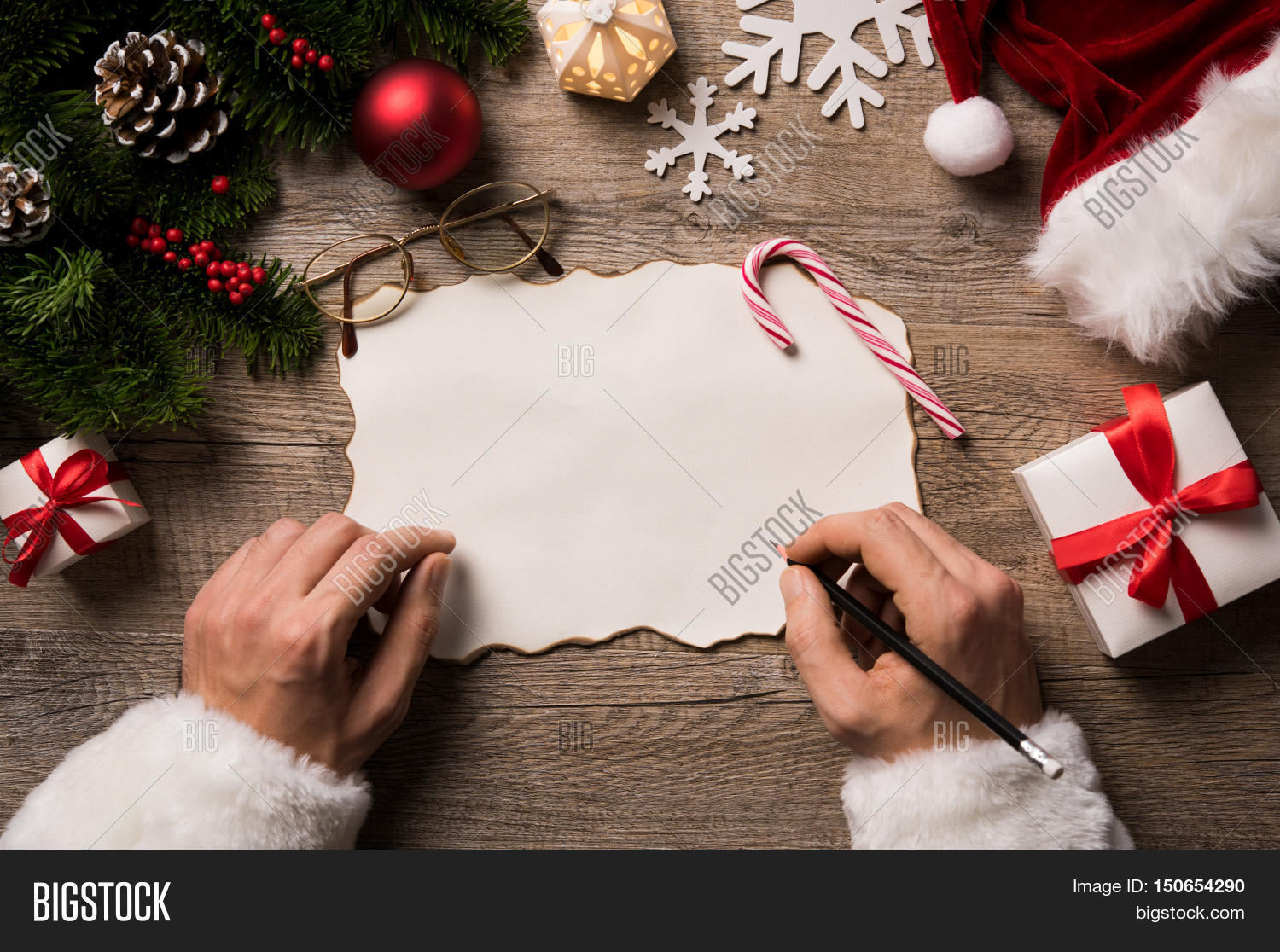 Top View Christmas Image  Photo Free Trial  Bigstock