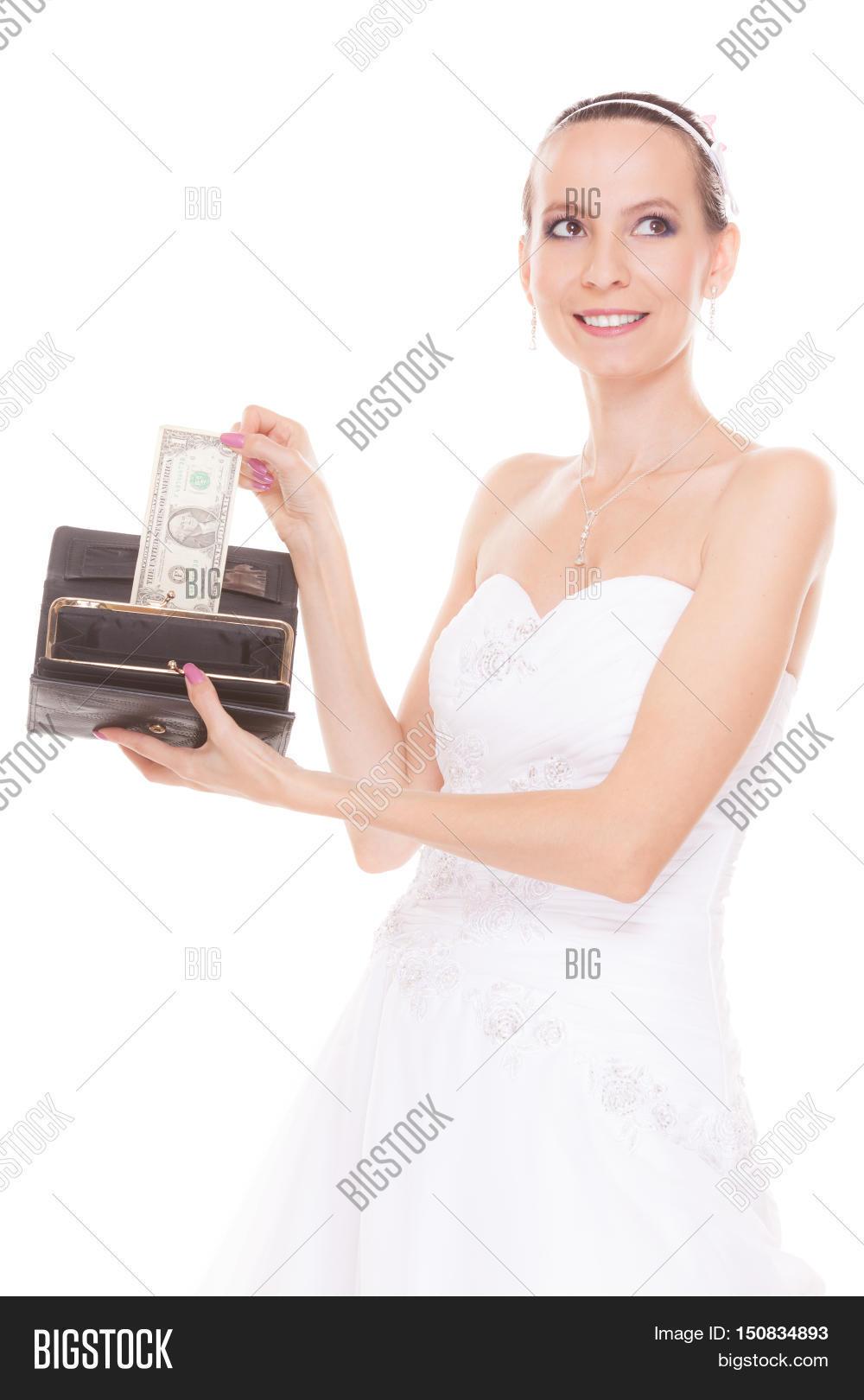 Bride One Dollar Image Photo Free Trial Bigstock