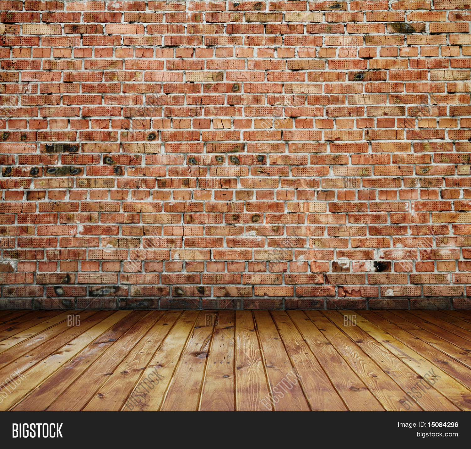 Old Interior Brick Wall Image Amp Photo Bigstock
